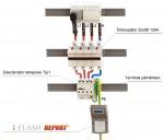 I FLASH REPORT® - contor de impulsuri de trasnet - cu marcaj de timp si comunicatie