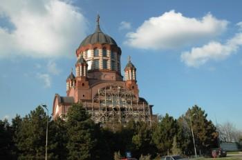 Biserica Ortodoxa Sf. Ioan Iacob Hozevitul Oradea, cartier Nufarul