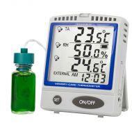 Termometru cu inregistrarea datelor pe card SD pentru frigidere/congelatoare 6400