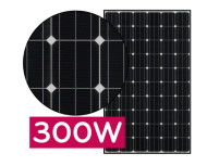 Panou solar fotovoltaic monocristalin LG300N1C-B3