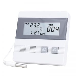 Termometru cu memorie pt. ora/data si valoarea max/min 4105