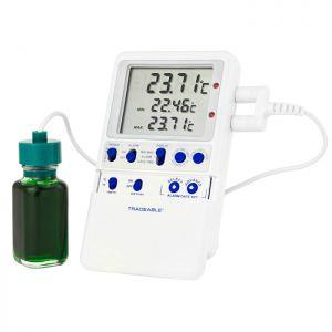 Termometru pentru frigidere cu senzor de platina de mare precizie 6408